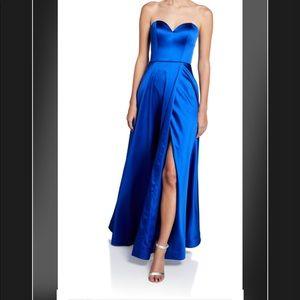 Jovani evening or formal dress royal blue size 4